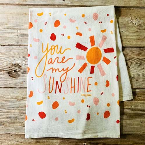 Flour Sack Towel - Sunshine