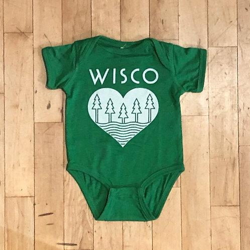 WISCO Roots Baby Onesie