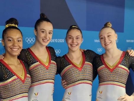 Lisa op de OS - Teamfinale!