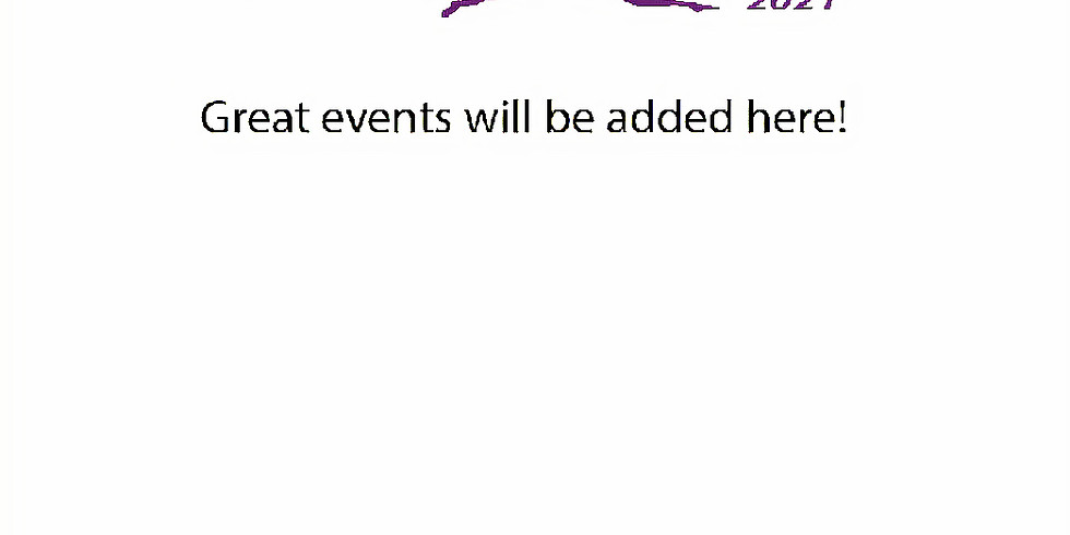 Events to be confirmed