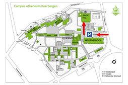 grondplan campus atheneum bewegwijzerd.j