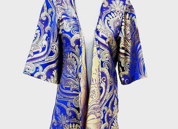 33% OFF! Blue and gold cardigan