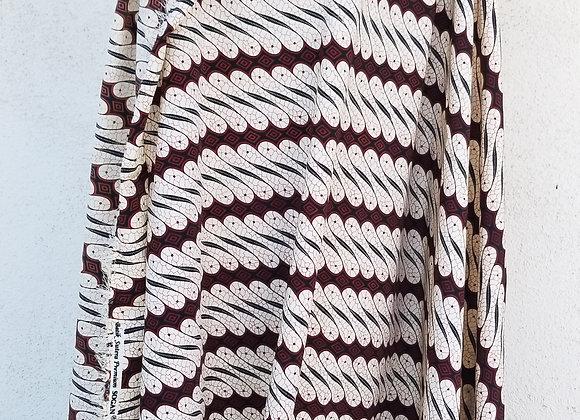 Kain Batik (fabric) Javanese Parang Motif