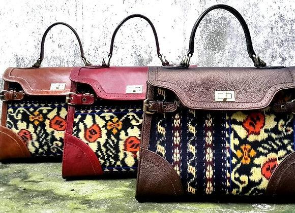 Women Handbag. Indonesian Tenun Ikat / hand woven