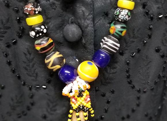 Beads necklace from Borneo