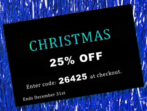 25% OFF EVERYTHING!
