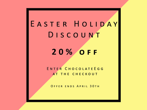 Easter Holiday Discount