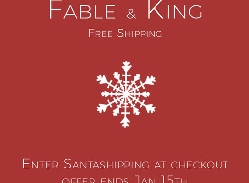 Free Delivery Throughout Christmas!