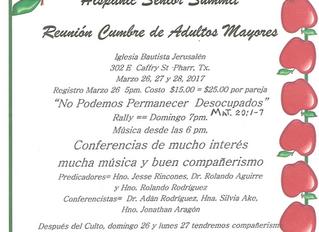 Reunión Cumbre de Adultos Mayores / Hispanic Senior Summit