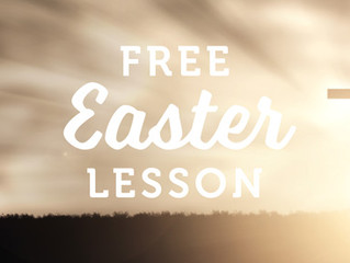FREE Easter Lesson