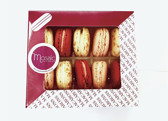 """Best of"" Classic Macarons GF 10pc Gift Pack"