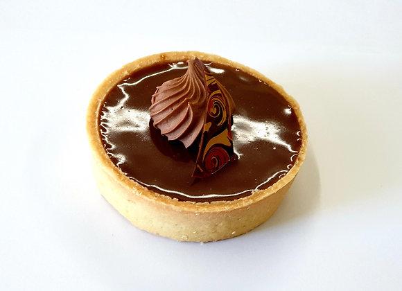 Milk Chocolate Hazelnut Tart (M) 2pc