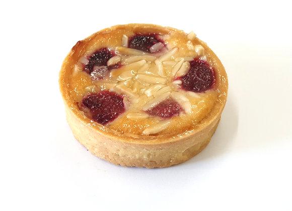 Raspberry Amandine Tart (M) 2pc