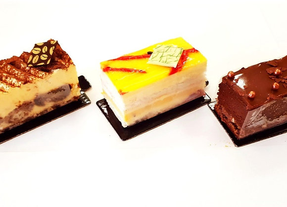 Assorted Premium Cakes (Rocher/Passion/Tiramisu) 3pc
