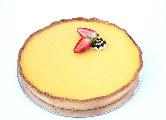 """Lemon Curd Tart 10"""" (L)"""