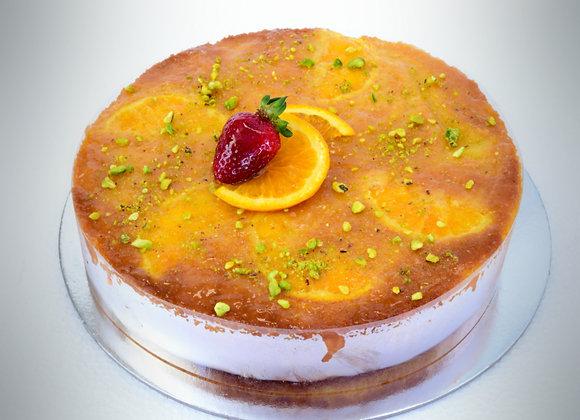 """Orange Lime Pistachio Cake GF 7"""" (M)"""