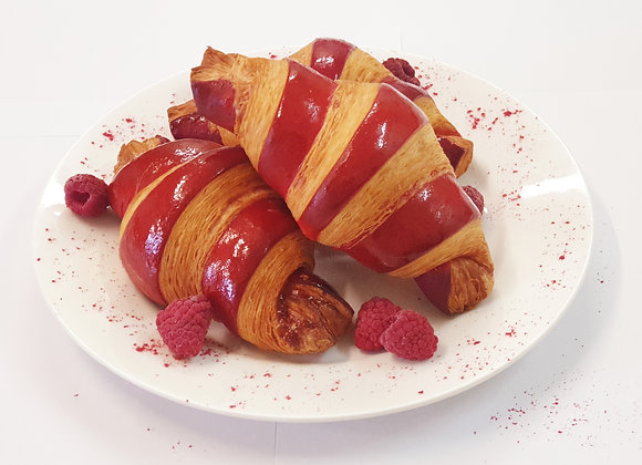 Raspberry Croissant 6pc - Ready to Bake