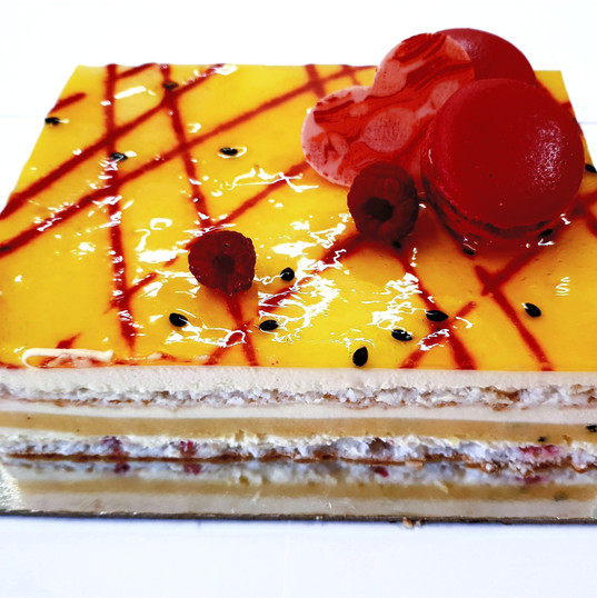 Passion Coconut cake