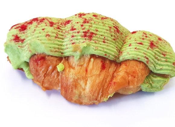Pistachio & Raspberry Croissant - 4pc - Ready to Bake