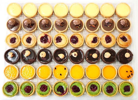 Wholesale pack of Mini tarts - 48pc