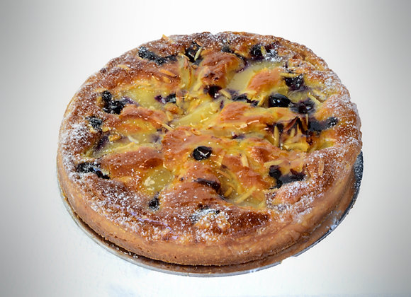 "Pear Hazelnut Amandine Tart 8"" (M)"