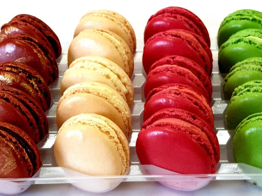 Christmas Macarons assortment