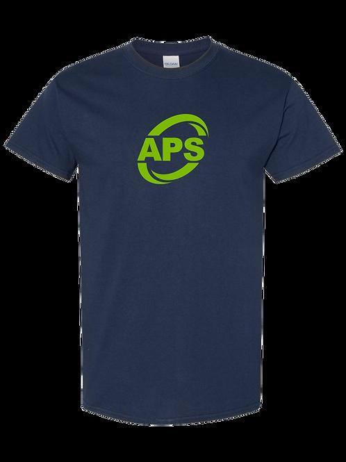 APS ADULT NAVY T-SHIRT