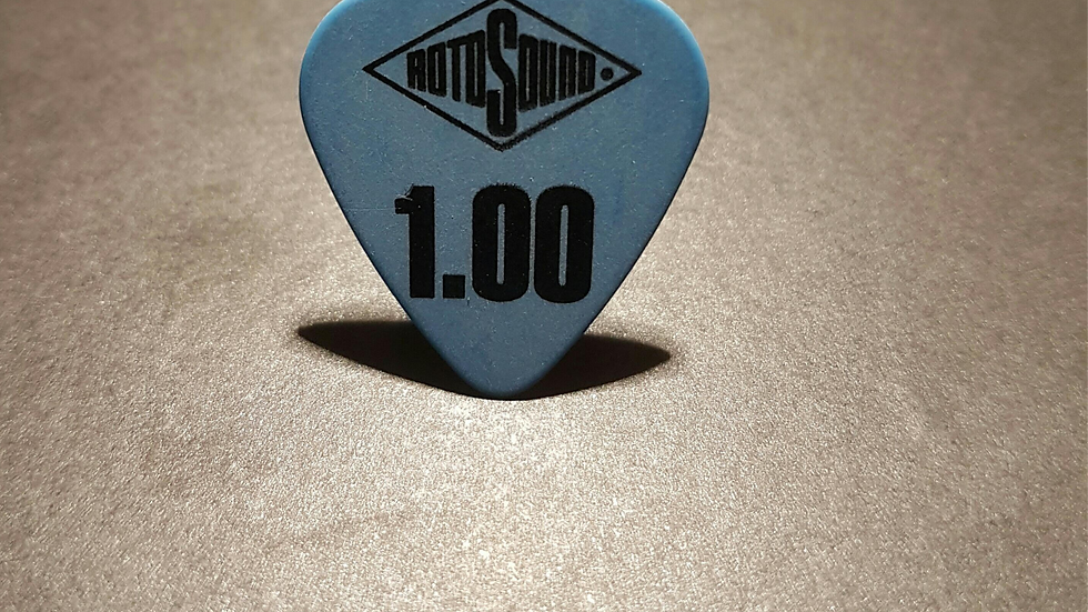 Rotosound Guitar Picks Pack of 6 - 1.0mm