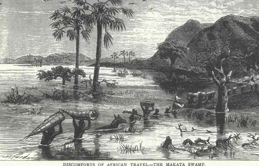 28. Stanley expedíciója D. Livingstone f