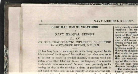 35. Alexander Bryson Navy Medical Report