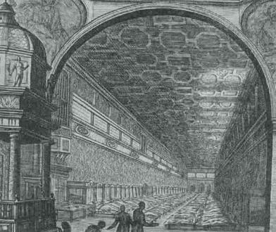 10. A Santo Spirito kórház Rómában a XVI