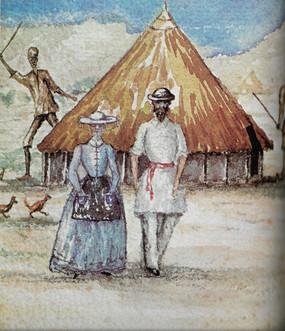 45. S.W. Baker és Flóra Sass, Baker vízf