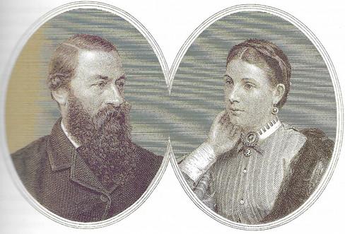 45 A. Samuel White Baker és Florence Sas