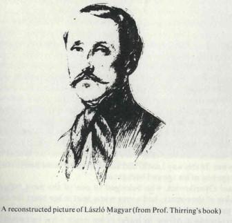 24. Magyar László Afrika kutató ( 1818-1