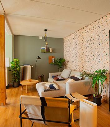 Wohnzimmer-Atmosphäre