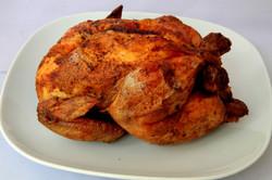El clásico pollo asado