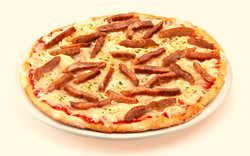 Pizza de Pollo Maya
