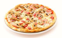 Pizza de champis