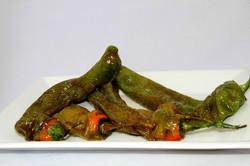 Pimiento verde asado