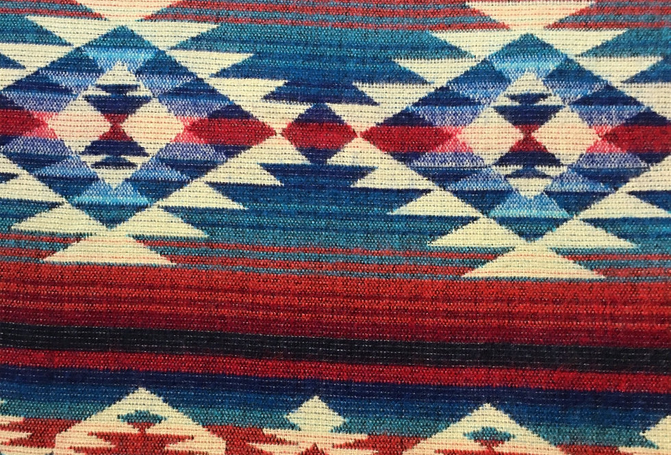 Coral - Turquoise Southwest Reversible Blanket / Throw