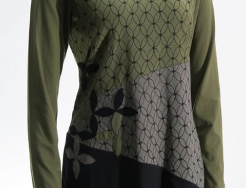 Flower of Life Applique Tunic