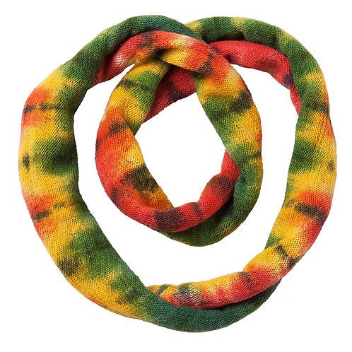 Ark Fair Trade Tie-Dye Magic Loop Headband-rainbow