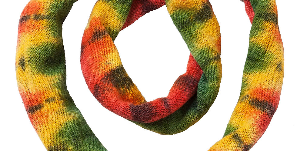 Ark Fair Trade Tie-Dye Magic Loop Headband-rainbow