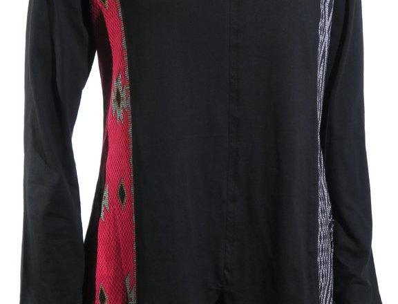 Paneled V-Neck Tunic