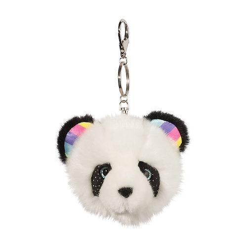 Douglas Toys Panda Fur Fuzzle Pom Clip