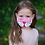 Thumbnail: Back to School Pink 5 Masks Set