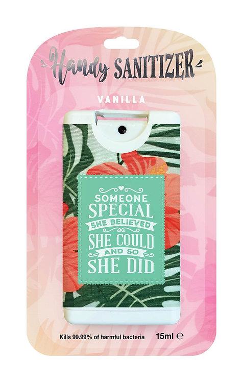 Pink rectangular hand sanitizer packet - Someone Special