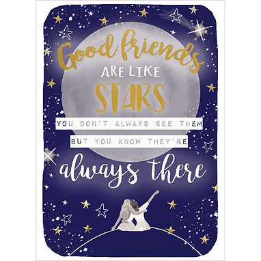 Always Friends Friendship Greeting Card