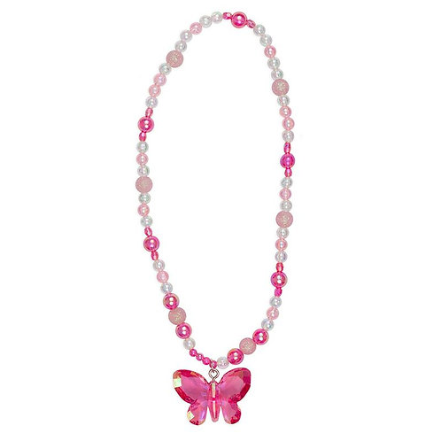 Great Pretenders Fancy Flutter Necklace magenta