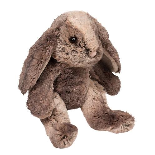 Douglas Toys Latte Bunny stuffed animal, brown